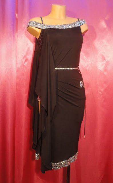 FB International Black Latin Dress