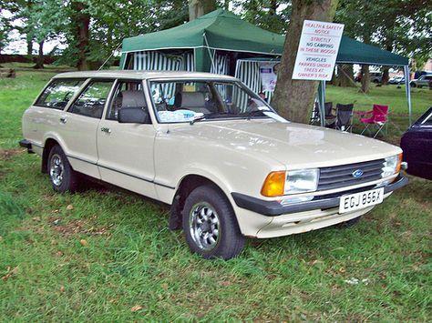 121 Ford Cortina Mk V Estate 1982 Classic Cars British Ford