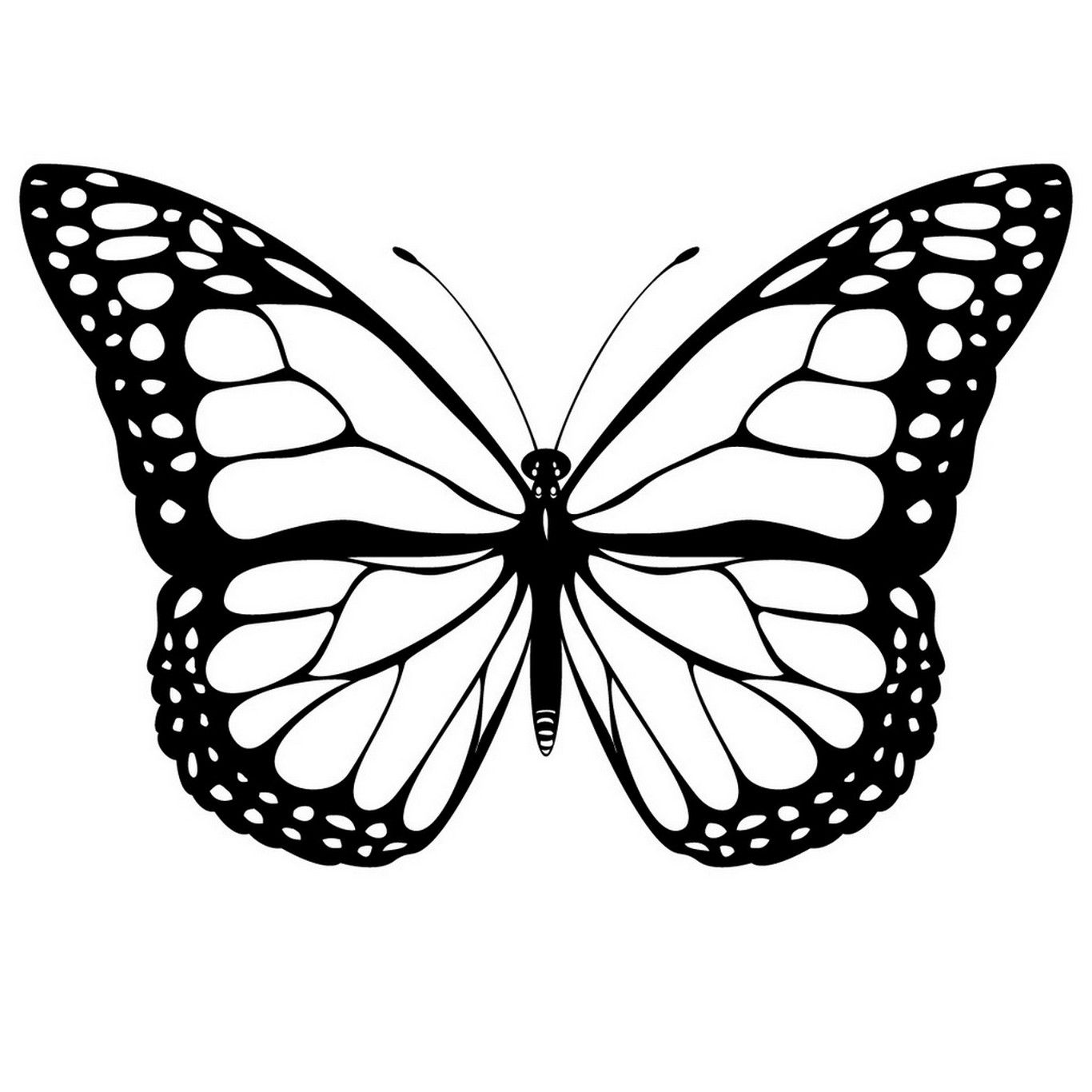 Butterfly Shape Coloring Page Vlinder Kleurplaten Jpg 1366 1366 Impressao De Borboleta Desenhos Para Colorir Borboletas Tatuagem De Borboleta