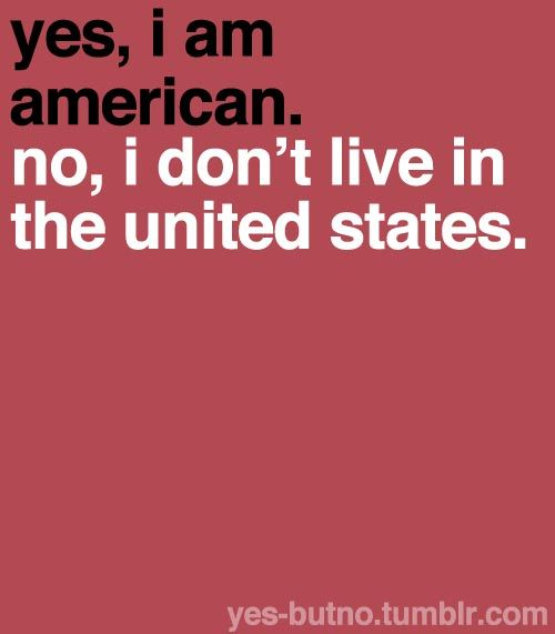 no, I am not from usa