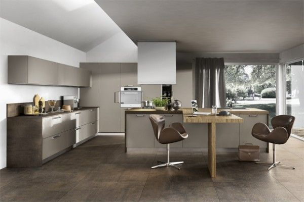 Kitchen designs with unusual choices