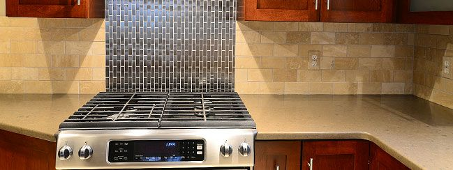 Hochwertig Kitchen Backsplash Tiles | Travertine Backsplash For Quality Kitchen Designs