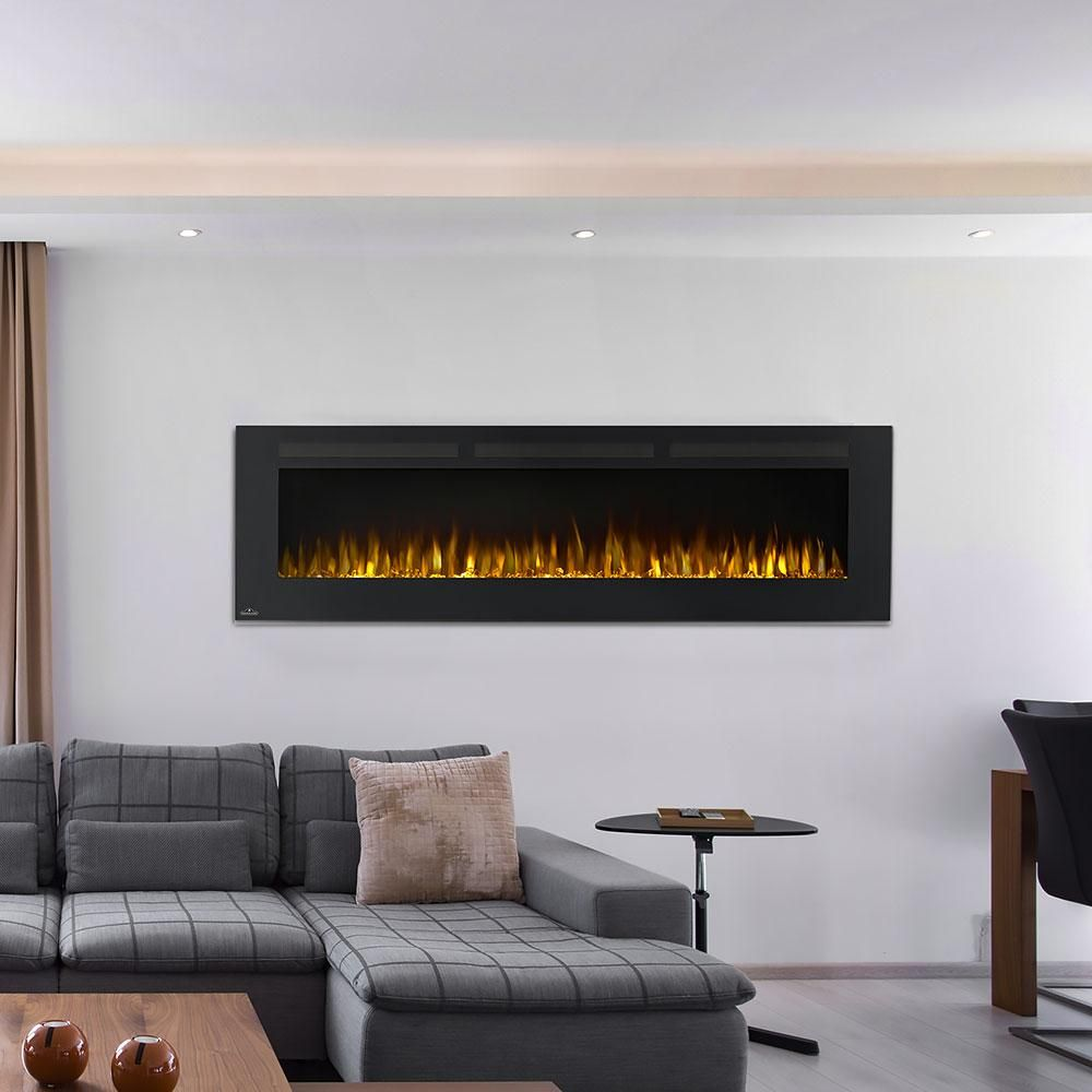 Napoleon Allure 72 Linear Wall Mount Electric Fireplace Wall