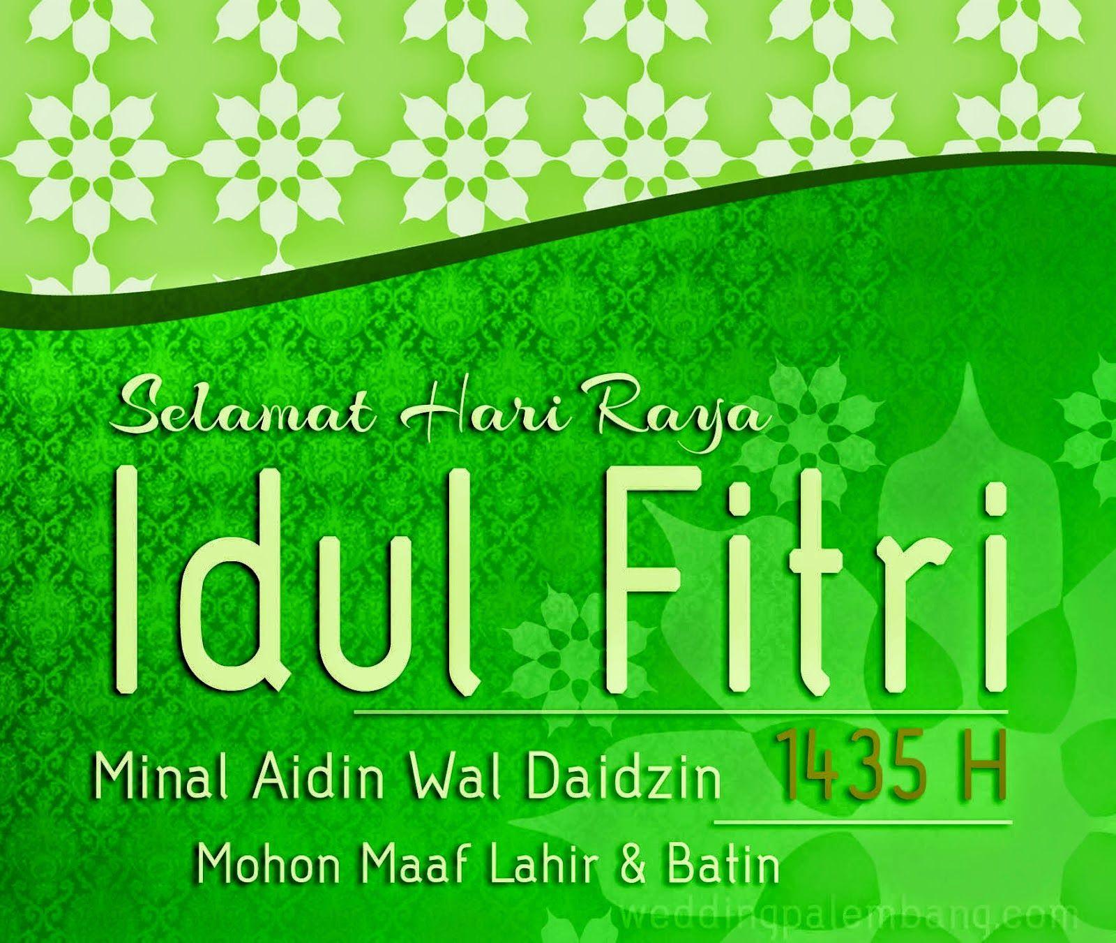Blog Yandi Permana: Selamat Idul Fitri 1435H Dan Mohon