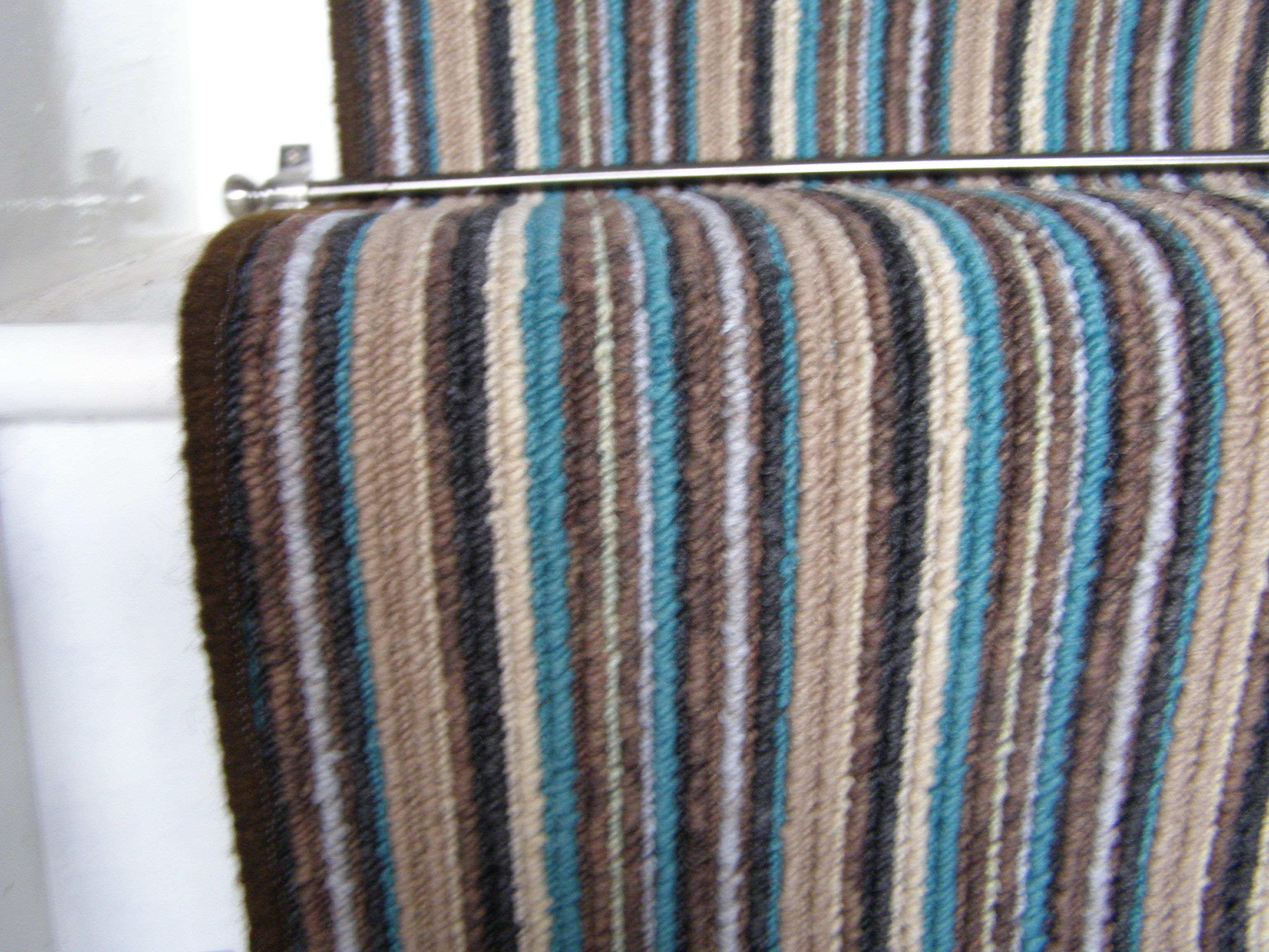 Best Phloor Teal Striped Stair Runner Carpet Stairs Teal 400 x 300