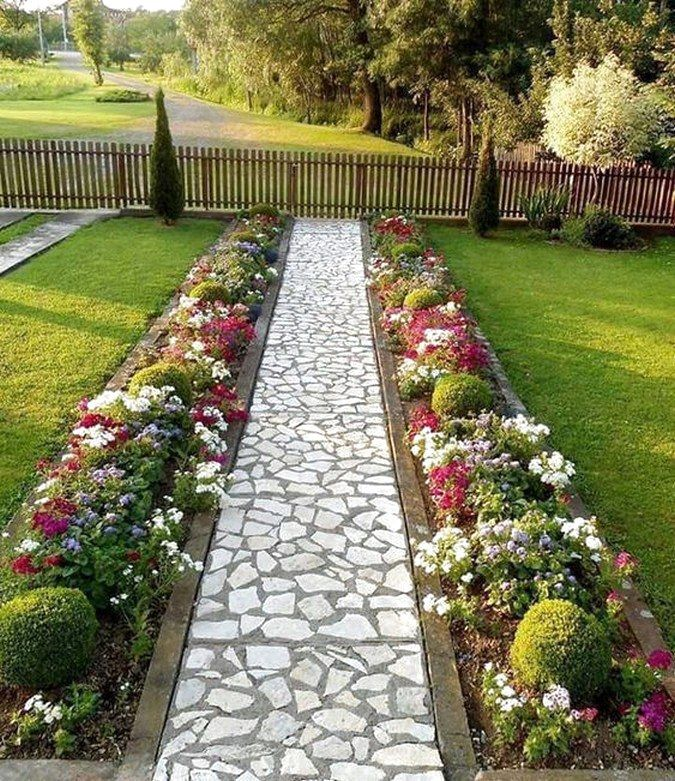 40 Adorable Front Yard And Backyard Landscaping Ideas on A ...