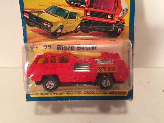 Matchbox Superfast No22 Blaze Buster on ripped by Thehucksterwagon