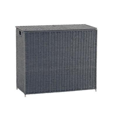 Household Essentials 3 Bag Paper Rope Sorter Grey Kd Gray