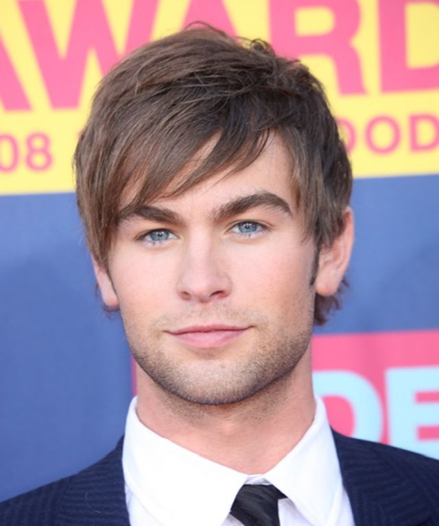 Delightful 10 Young Male Star Hairstyles: Chase Crawford