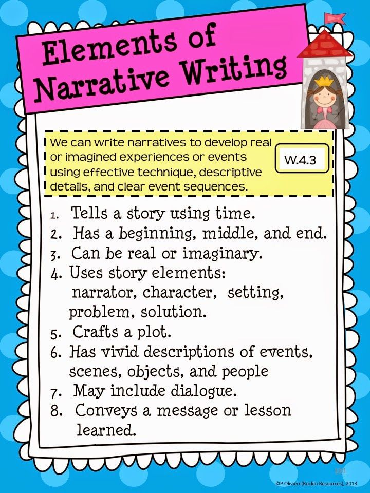 Narrative writing mini lessons 5th grade refinery resume template
