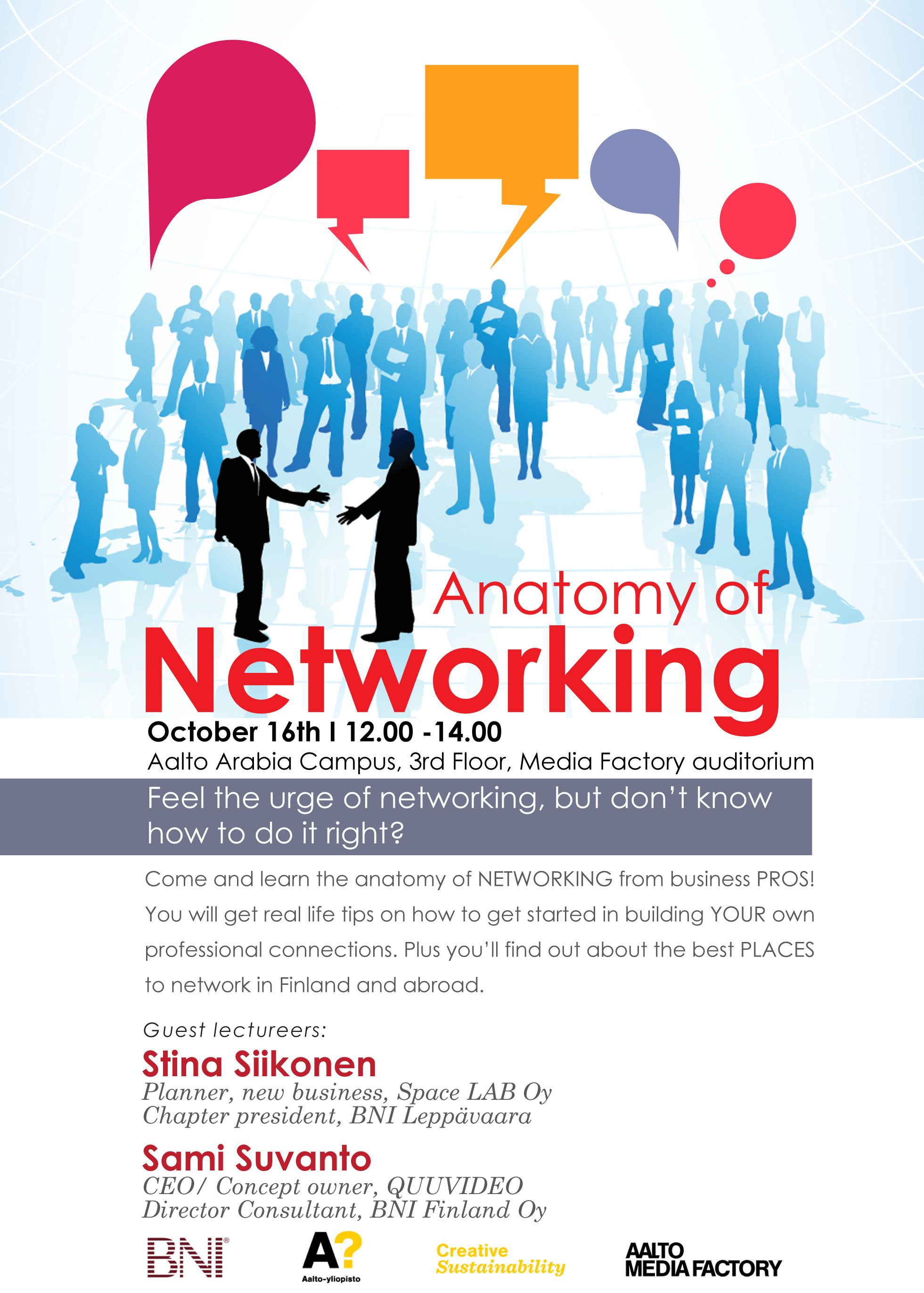Networking Event Flyer