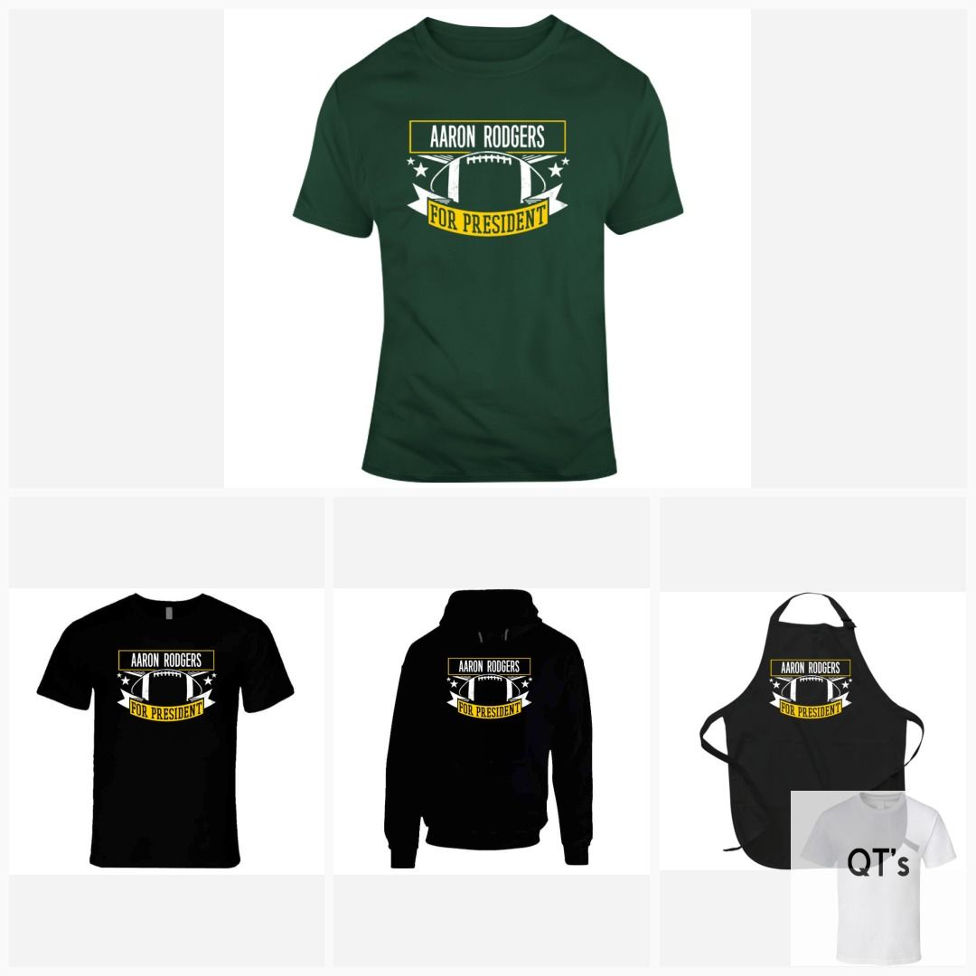 Aaron Rodgers T Shirt Etsy Aaron Rodgers Shirts Womens Tees