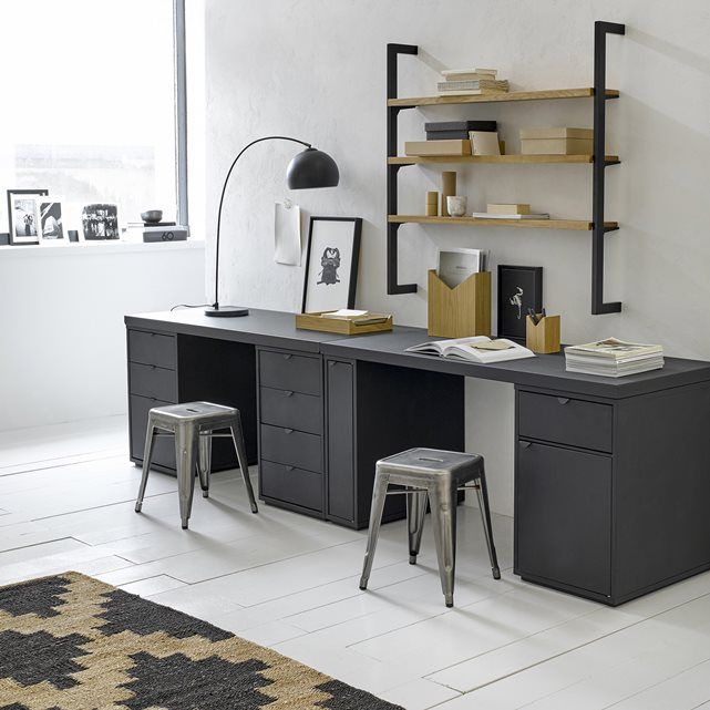 Metal desk top.Matches the Angus pedestal units (available on our website) to create your very own workspace.Size 2: L150 x D65 x H3 cm.