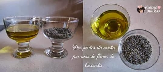 dulces pilukas: Como hacer aceite de lavanda. Un pequeño placer.