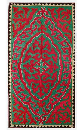 Rugs usa shyrdak felt hanson red rug rugs pinterest fieltro siluetas and laminas - Alfombras contemporaneas ...