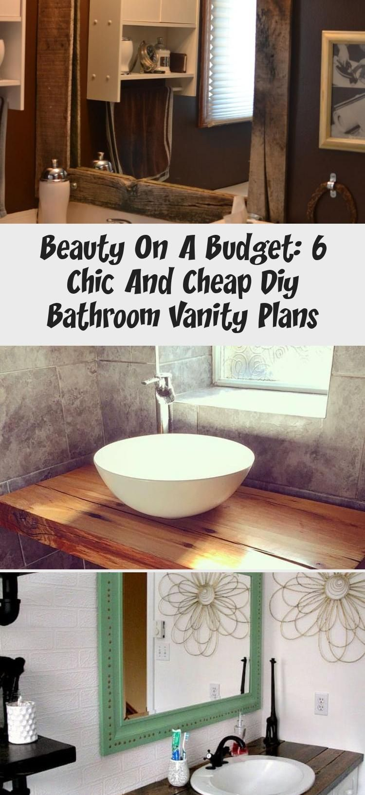 Beauty On A Budget 6 Chic And Cheap Diy Bathroom Vanity Plans Bathroom Bathroom Beauty Diy Bathroom Vanity Diy Bathroom Diy Bathroom Vanity Plans [ 1635 x 750 Pixel ]