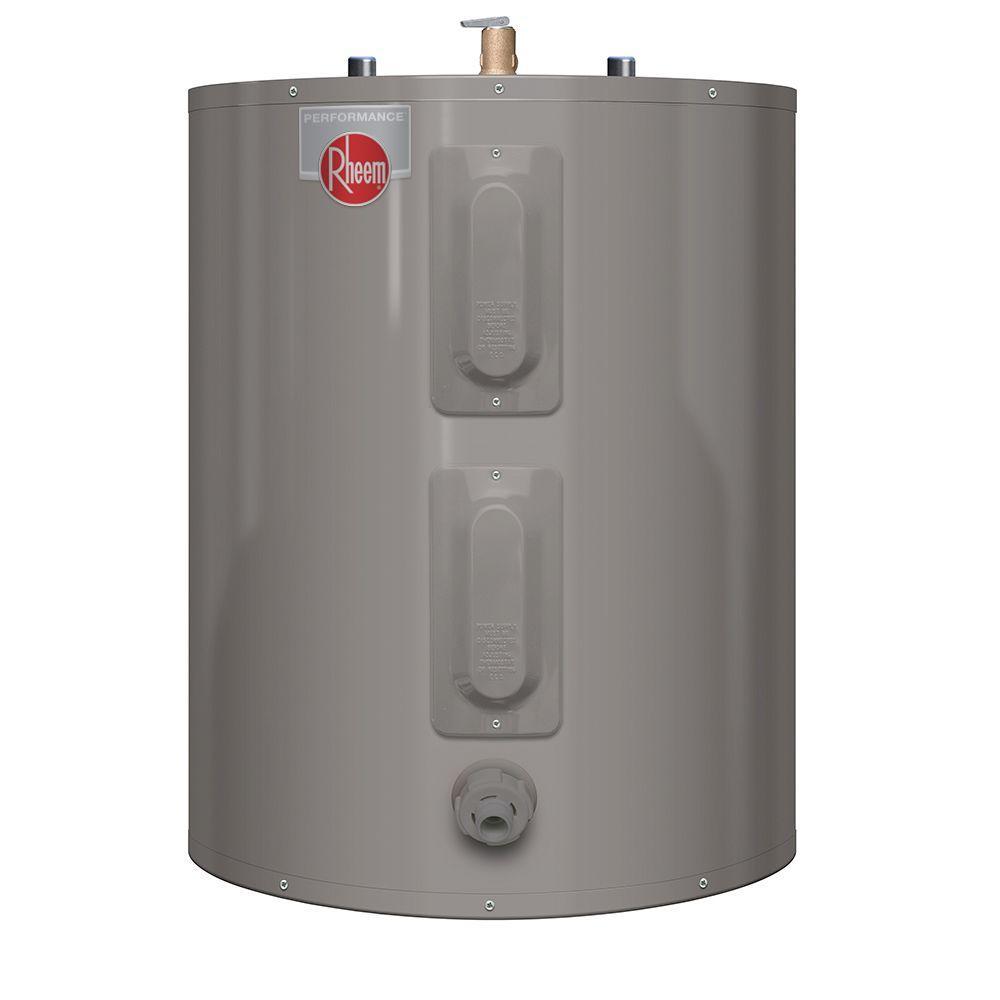Rheem Performance 30 Gal Short 6 Year 3800 3800 Watt Elements Electric Tank Water Heater Xe30s06st38u1 Electric