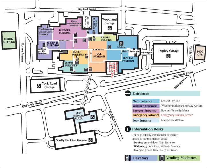 AMH Campus Map Campus map, Radiology imaging, Continuing