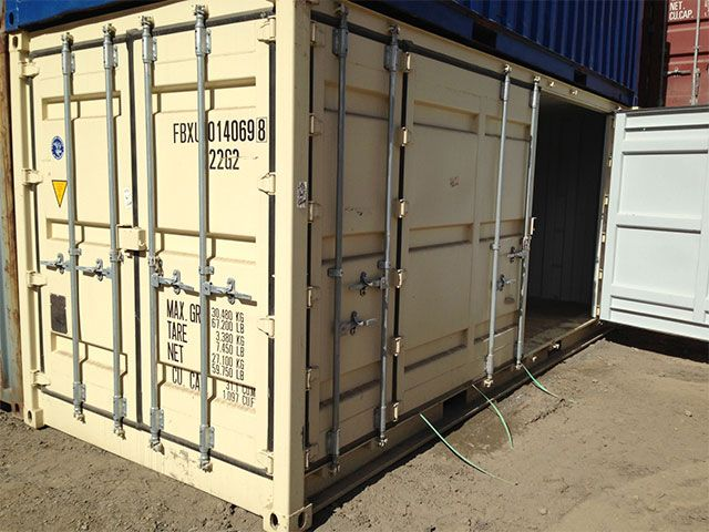 20ft Side Opening Containers For Sale Gateway Container Sales Containers For Sale 20ft Container Shipping Container Homes
