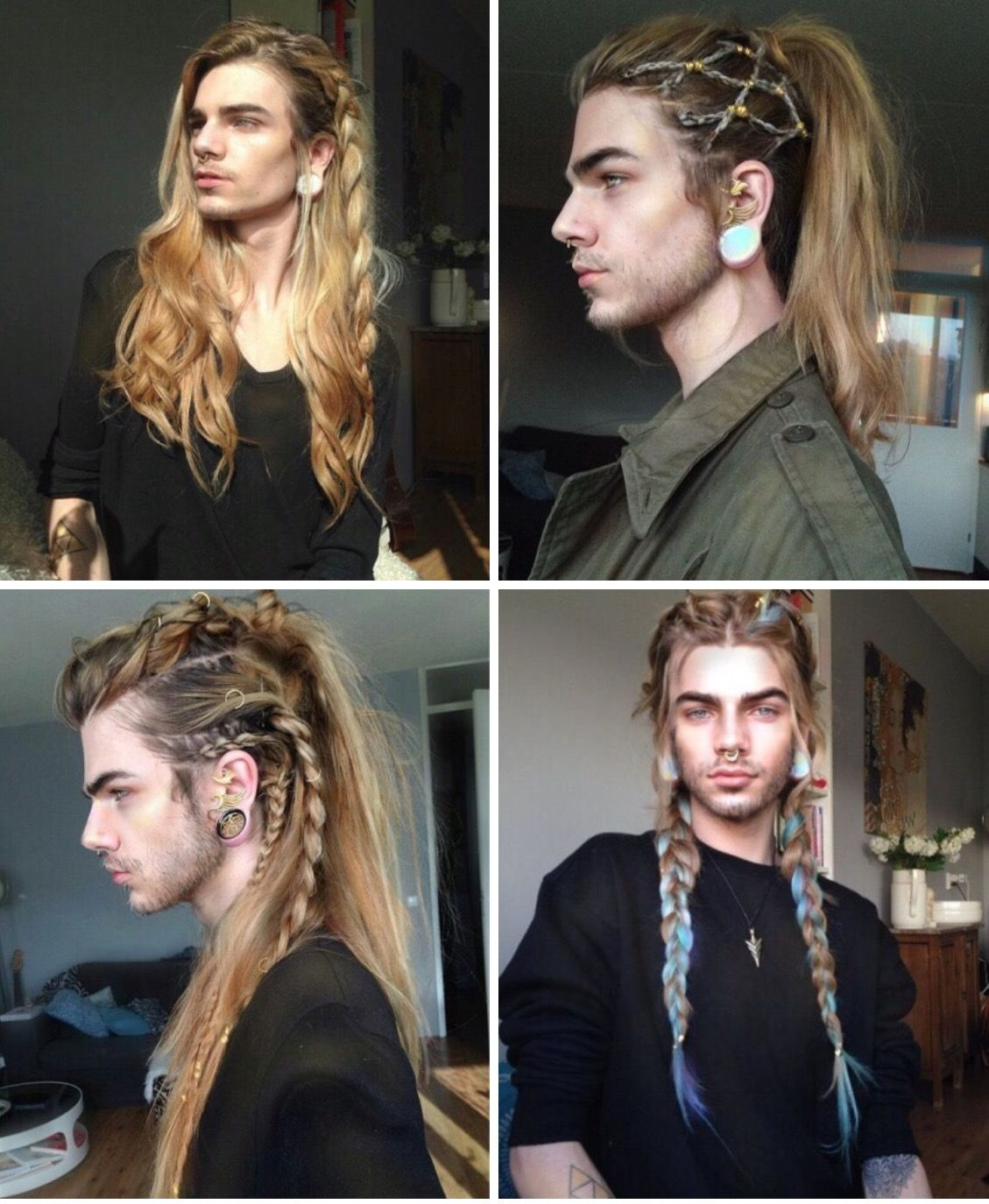Coiffure Homme Viking Nils Kuiper Hair Pinterest Coiffure Cheveux And