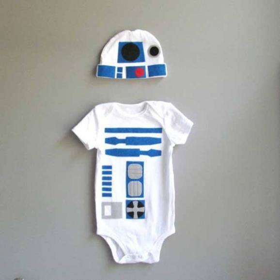 Dress your baby like a star wars character | ScienceDump