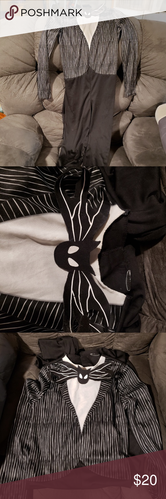 Jack skellington costume (With images) Jack skellington
