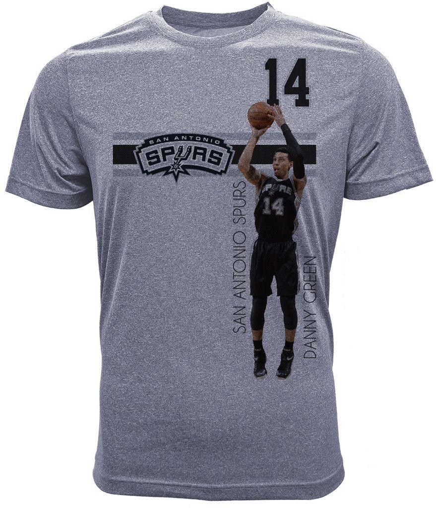 Danny Green San Antonio Spurs T-Shirt, Bar Stripe Player, Adult