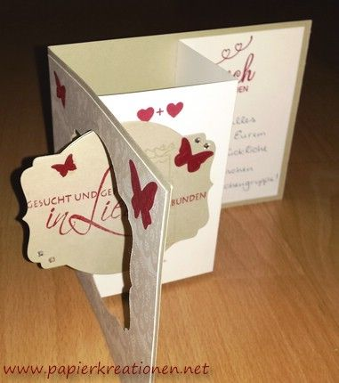 zum tag der tage pop out swing card zur hochzeit mit stampin up hochzeit. Black Bedroom Furniture Sets. Home Design Ideas