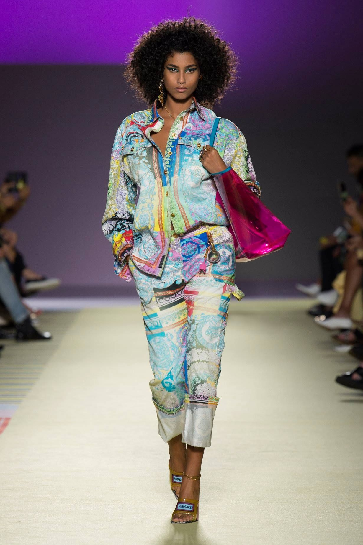 Versace Spring Summer 2019 Look 33 | Fashion, Versace
