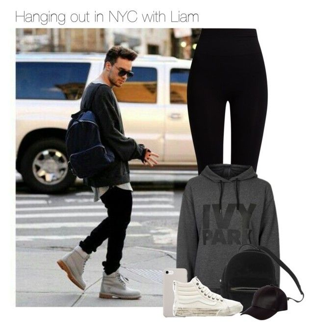 """""""Hanging out in NYC with Liam"""" by werehazza ❤ liked on Polyvore featuring Pepper & Mayne, Topshop, Urban Outfitters, Vans and River Island"""