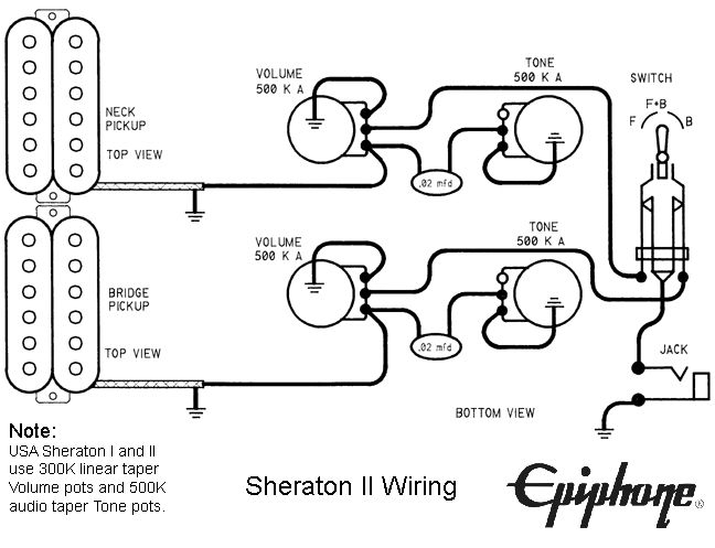 93a25b8ae2d383f573eb430043f723c3 epiphone lp guitar wiring diagram diagram wiring diagrams for epiphone sheraton wiring diagram at creativeand.co