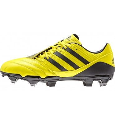 pretty nice f3991 18e72 Adidas Incurza Elite SG Rugby Boots in Bright Yellow  Night Metallic