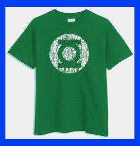 Green Lantern distressed