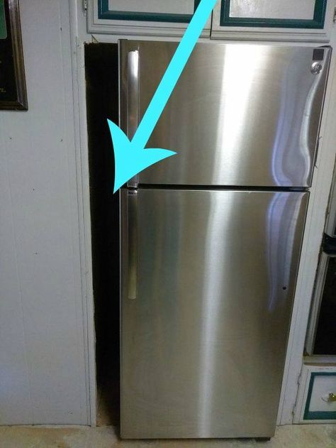 Elegant Do THIS In The Narrow Space Next To Your Fridge And Get So Much More  Kitchen Storage Space!