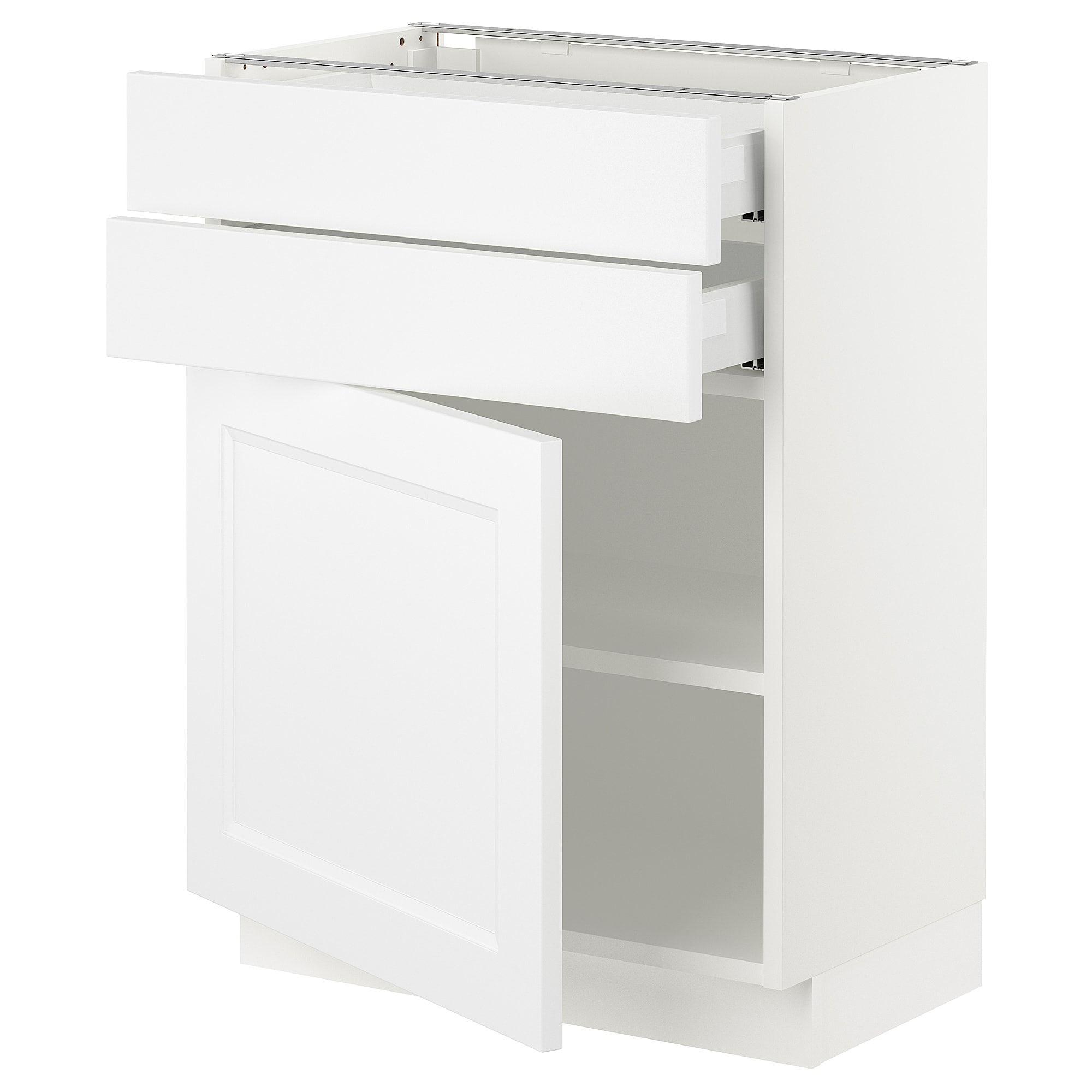 IKEA SEKTION white Base w/door & 2 drawers Frame