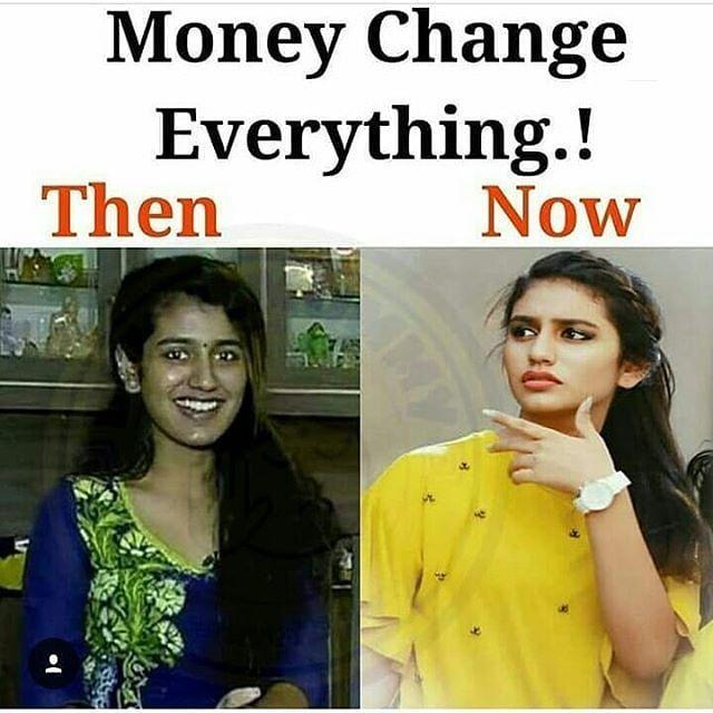 Image result for priya prakash without makeup