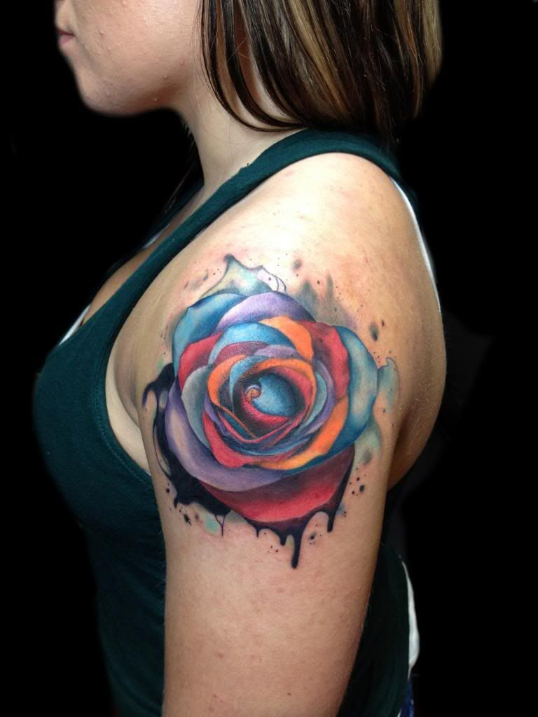 Watercolor tattoo artists in houston texas - Watercolor Tattoo Artists In Houston Texas 14