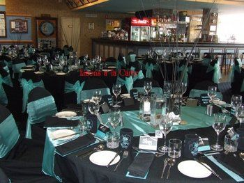 Wedding, Reception, Turquoise