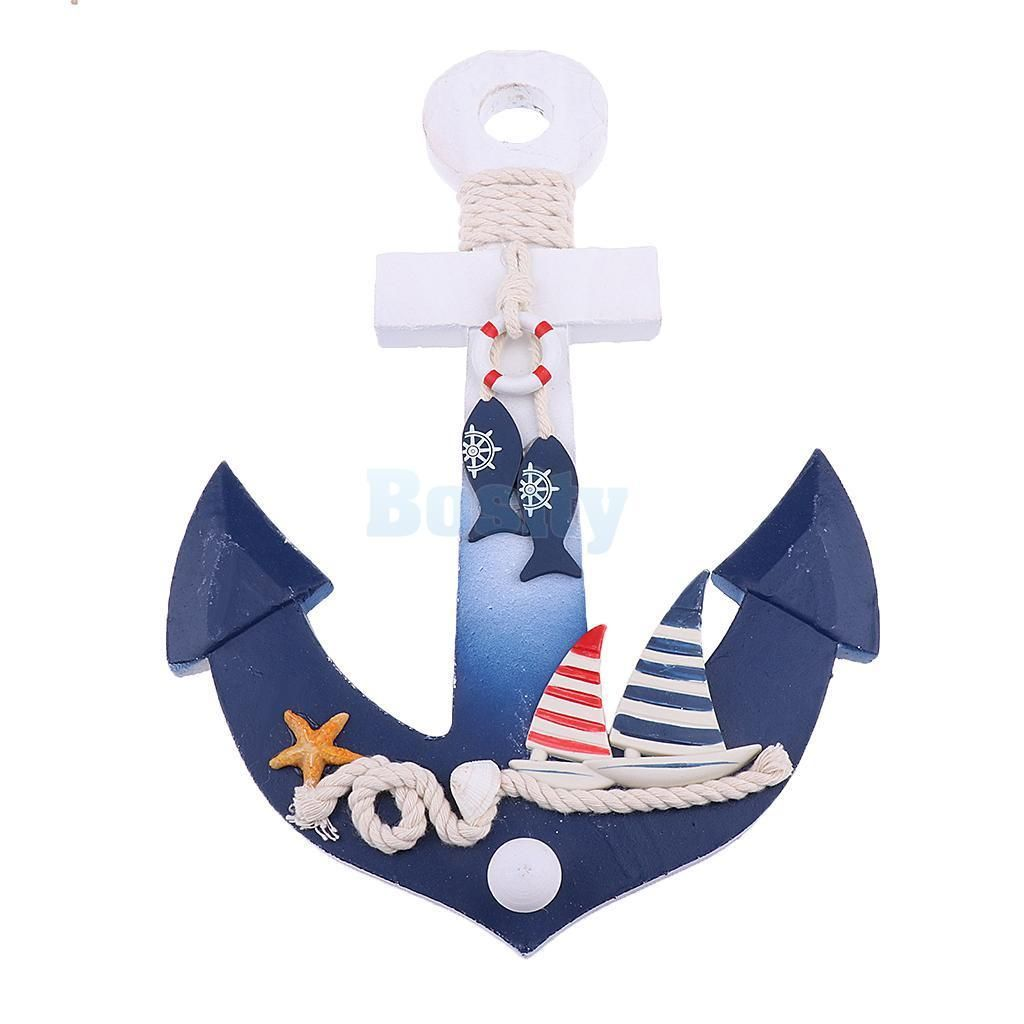 Details About Nautical Anchor Door Wall Hanging Ship Home Decor