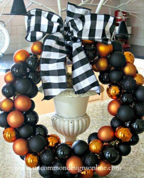 22 Best Halloween Wreaths to Make Halloween Pinterest - how to make decorations for halloween