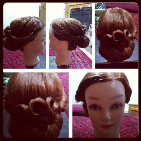 Weddings updo hair style