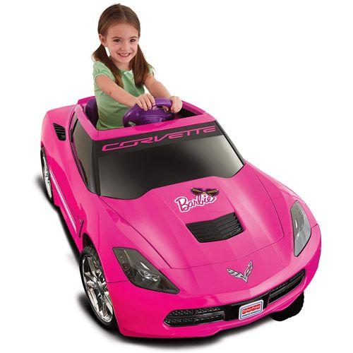 fisher price barbie corvette power wheels
