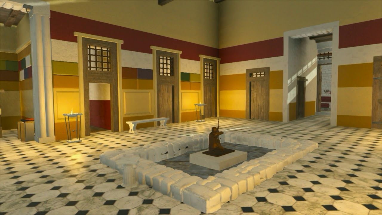 79 Ad Pompeii And The House Of Sallust 3d Reconstruction