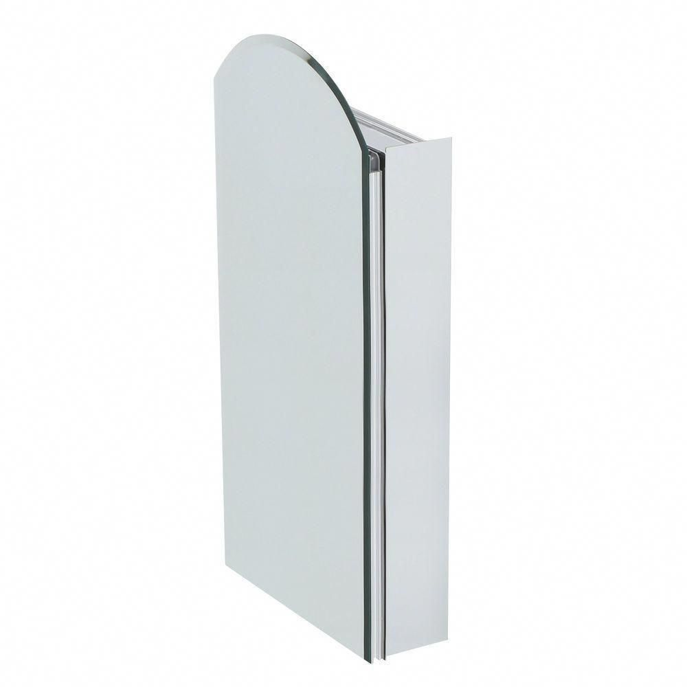 Pegasus 15 Inch X 30 Recessed Or Surface Mount Mirrored Medicine Cabinet With Frameless Mirror In Glshelvesmirror
