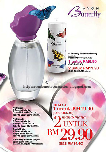 Avon Fragrance Butterfly Eau De Cologne Spray Avon Fragrance