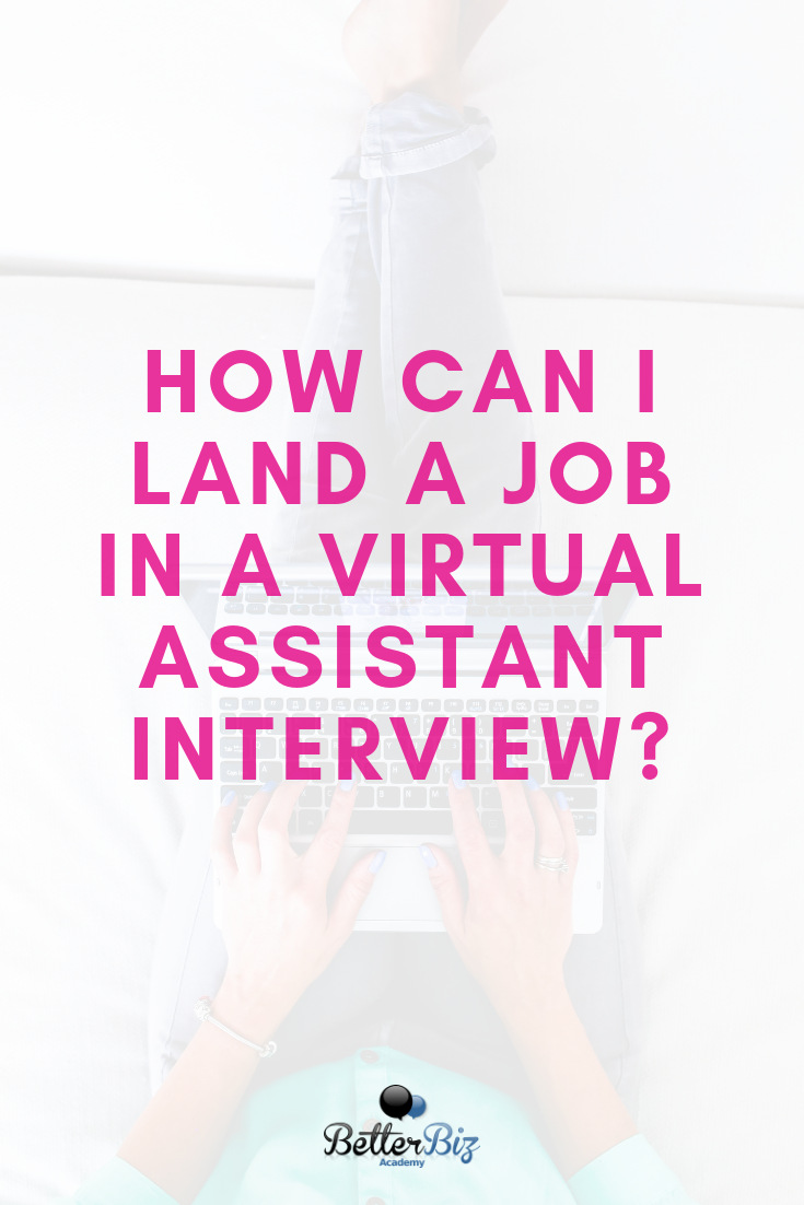 Nail your next sales call for virtual assistant job
