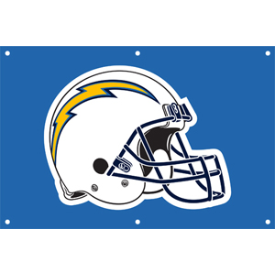 San Diego Chargers Door Banner By Game Day Treasures Game Day Treasures San Diego Chargers Chargers Nfl Los Angeles Chargers