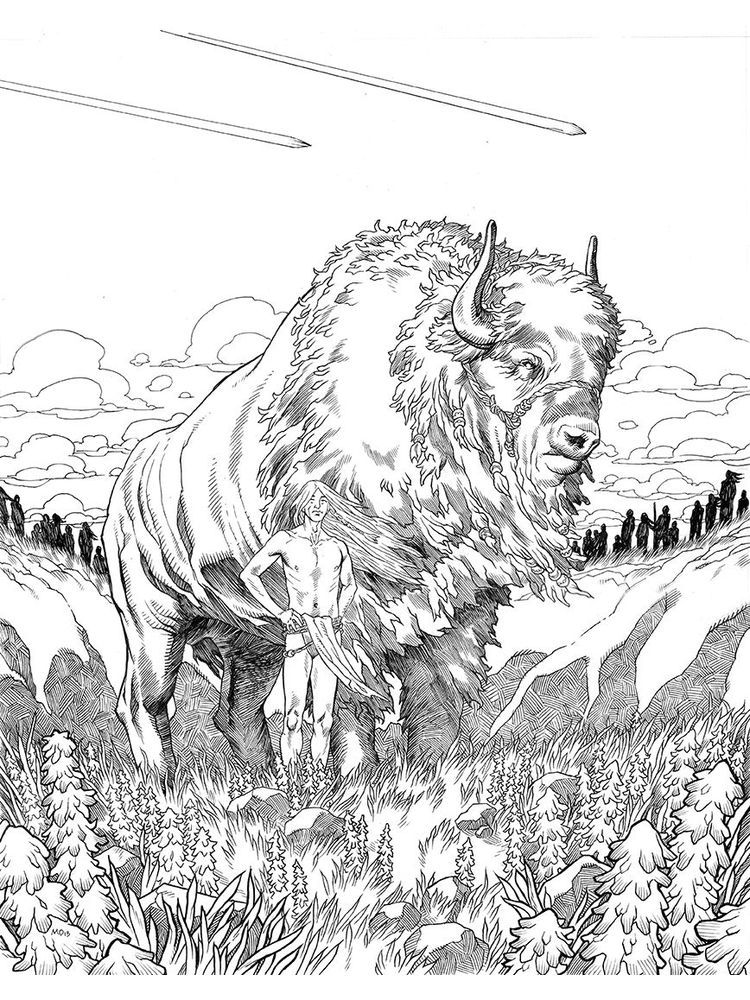 Free Buffalo Coloring Pages Printable Buffalo Is A Cattle Mammal Inhabit Many Lands In The World Especial Animal Coloring Pages Coloring Pages Coloring Books