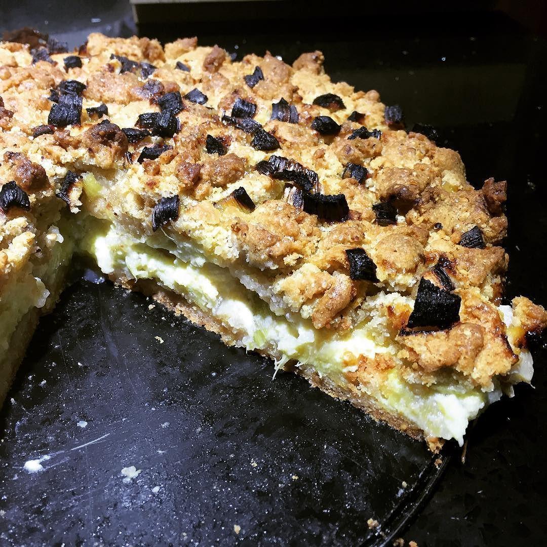 Keine Schokolade: NLP Rhabarber-Schmand Kuchen V2