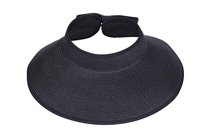 9018cdeb334 I-MART Roll-up Straw Sun Hat
